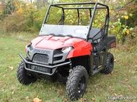 Стекло половинка для квадроциклов Polaris Ranger HWS-P-RAN400-70