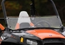 Лобовое стекло для квадроцикла Polaris RZR 1 2 SuperATV Half Windshield