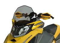 Стекло среднее POWERMADD COBRA W S для Ski-Doo REV XP MID TINT BK YLW S M 13421