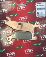 Колодки тормозные для квадроцикла Yamaha GrizzlyTRW MCB803SI FA445 3B4-W0046-00-00