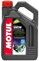 Моторное масло полусинтетика Motul Snowpower 2T 4л 105588 106600