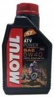 Моторное масло синтетическое Motul ATV Power 5W40 4T 1L 4L 105897 105898