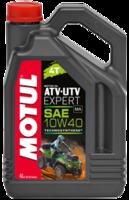 Моторное масло полусинтетическое Motul ATV-UTV Expert 10W40 4T 1L 4L 105938 105939