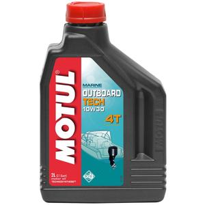 Масло для лодочного мотора Motul Outboard Tech 4T 10W-30 106453 106446 106447  2 Литра