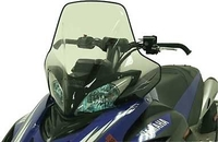 Стекло высокое POWERMADD COBRA W S для Yamaha APEX  Attak TALL CLR BLK S M 15640
