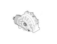 Передний редуктор для Polaris RZR 1000 1333112