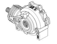 Передний редуктор для Polaris RZR 900 1332923 1333105