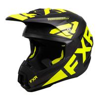 Шлем FXR Torque Team (Black Hi Vis) 220620-1065