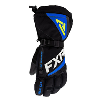 Перчатки FXR Fuel (Black Blue Hi Vis) с утеплителем 220810-1040