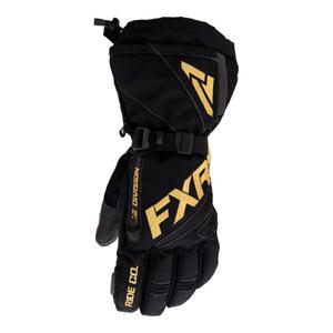 Перчатки FXR Fuel (Black Gold) с утеплителем 220810-1062