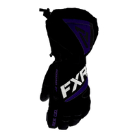 Перчатки FXR Fusion (Black Purple) с утеплителем 220833-1080