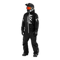 Комбинезон FXR Recruit (Black White) без утеплителя 222815-1001