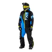 Комбинезон FXR Recruit (Black Blue Hi Vis) без утеплителя 222815-1040