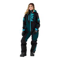 Комбинезон FXR Recruit (Black Ocean Sky Blue) без утеплителя 222911-1048
