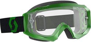 Очки для квадроцикла Scott Hustle X MX green/black прозрачная линза 268183-1089113