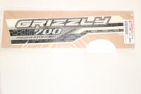 Наклейка бака (левая) оригинальная для квадроцикла Yamaha Grizzly 700 2ES-F1781-00-00