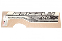 Наклейка бака (правая) оригинальная для квадроцикла Yamaha Grizzly 700 2ES-F1782-00-00