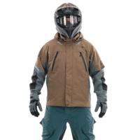 Мембранная куртка DragonFly QUAD 2.0 BROWN-GREY 400112-21-669