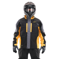 Мембранная куртка DragonFly QUAD PRO BLACK-YELLOW 2021 400117-21-539