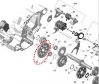 Шестерня коробки передач BRP 420434551