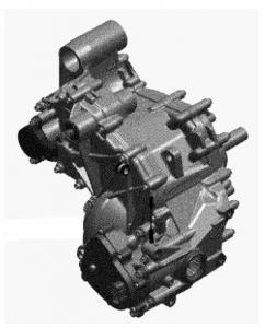 Коробка передач для квадроциклов Can Am BRP 420685802 420685804
