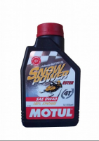 Моторное масло для 4-х тактных снегоходов Motul Snowpower 4T 0W40 1 л 101230