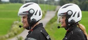 Шлем открытый Can-Am ST-1 Hybrid серебристый XL 4474271208