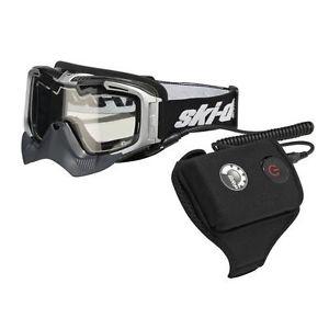 Очки с подогревом для снегохода BRP Ski Doo Helium Electric 4475840008 4478270008