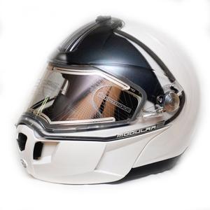 Шлем зимний Ski-Doo MODULAR 2 белый с рисунком L 4476480901 БРАК  СЗАДИ