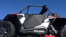 Двери ProArmor черные для  квадроцикла Polaris RZR XP 1000 ProArmor SUICIDE DOOR METAL