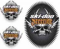 Наклейки оригинальные Ski-Doo Freeride Skulls 516006307