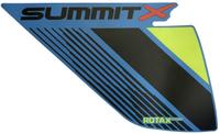 Наклейка пластика левая (Manta Green) для снегохода левая BRP Ski-Doo G4 850 Summit X 2018г 516008339