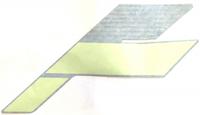 Наклейка левая боковая (Manta Green) для снегохода BRP Ski-doo Summit 2018 г 516008457
