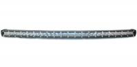 Фара диодная узкая изогнутая 5DC-180W-COMBO комбинированный свет