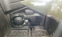 Боковина пластика левая ПОД МАСЛЯНЫЙ ЩУП для Suzuki 63342-31GA0-291
