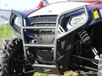 Бампер передний квадроцикла черный Polaris RZR XP 900 800 S 570 Super ATV FBG-P-RZR-WB