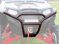 Бампер передний спортивный черный квадроцикла Polaris RZR XP 900 800 S 570 Super ATV FB-P-RZR11-R