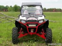 Бампер передний спортивный черный квадроцикла Polaris RZR XP 900 800 S 570 Super ATV FB-P-RZR11-WB