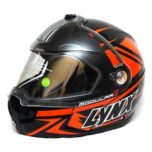 Шлем зимний Lynx Modular 3 оранжево черный XL 6690431218
