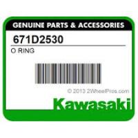Кольцо уплотнительное ведомого вариатора Kawasaki 671D2530