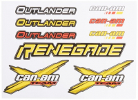Комплект наклеек BRP Can Am Outlander Renegade 704901481