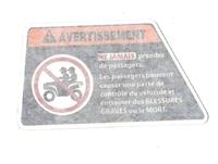 Наклейка информационная 704902786