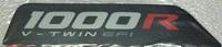 Наклейка подножки для квадроцикла BRP 1000R 704905112, шт