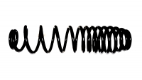 Пружина амортизатора BRP Can-Am Outlander Max (08-12) 706200702 706200822