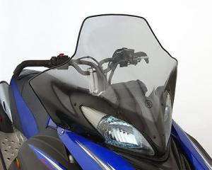 """Стекло высокое 17""""  для снегохода Yamaha Apex Attak RS Vector SMA-8FT96-40-BK"""