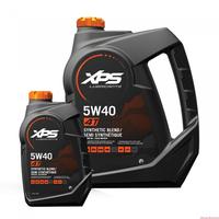 Полусинтетическое масло BRP XPS для 4-х тактных двигателей, летнее 5w-40, 3,8 литра. 293600122 779134 779291