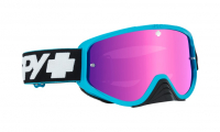 Очки MX SPY+ WOOT Race (Slice Blue-Smoke with Pink Spectra + Clear AFP)