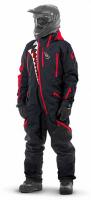 Комбинезон (моносьют) для снегохода Dragonfly Extreme 2020 Black-Red 820200-20-321