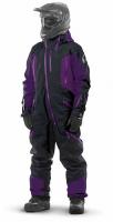 Комбинезон (моносьют) для снегохода Dragonfly Extreme 2020 Black-Purple 820200-20-388