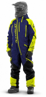 Комбинезон (моносьют) для снегохода Dragonfly Extreme 2020 Blue-Yellow Fluo 820200-20-455